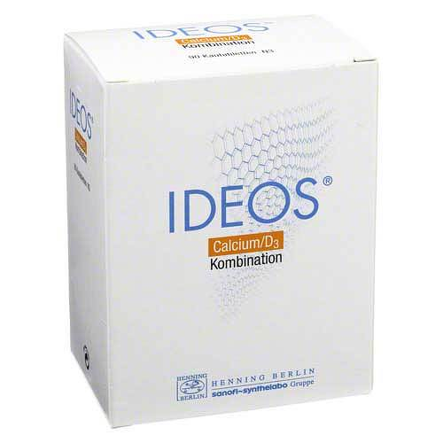 LABORATOIRE INNOTECH INTERNATIONAL Ideos 500 mg / 400 I.E. Kautabletten 08523849