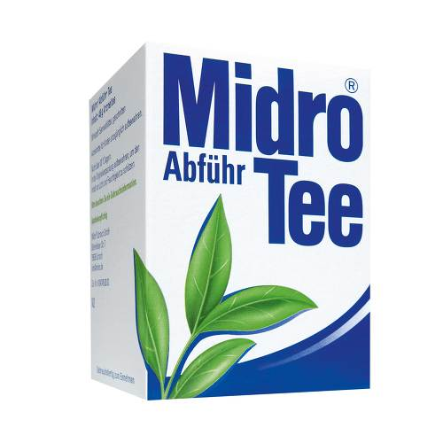 Midro Lörrach GmbH Midro Abführ Tee 08604967