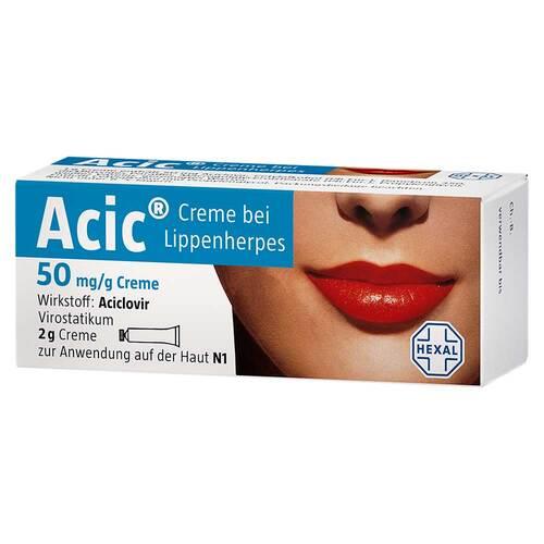 Hexal AG Acic Creme bei Lippenherpes 08654310