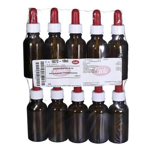 Caesar & Loretz GmbH Pipettenflasche 30 ml mit kompl.Pipettenmontur 08743226
