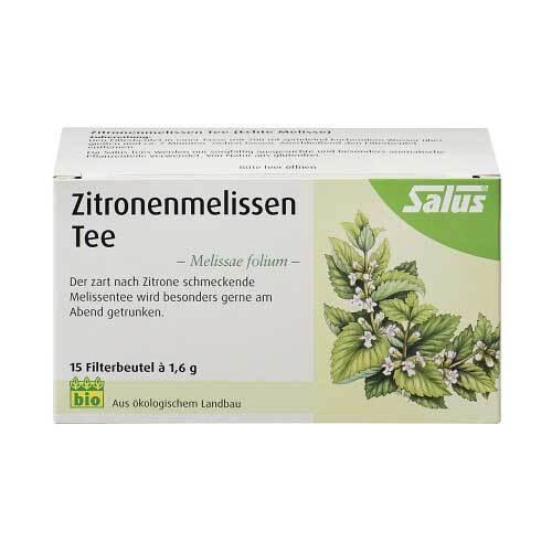 SALUS Pharma GmbH Zitronenmelissen Tee Melissae herba Salus 09002325
