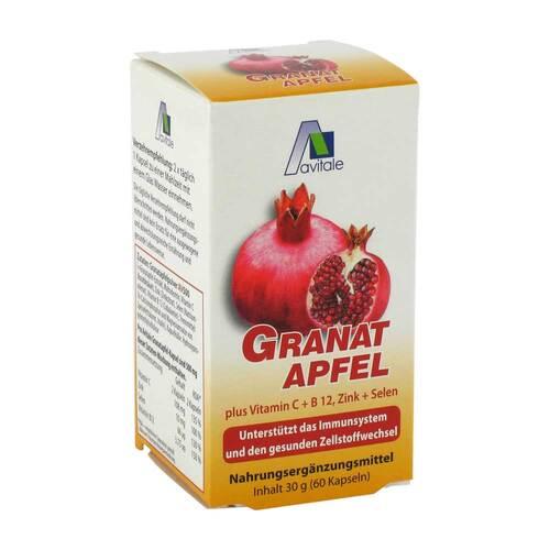Avitale GmbH Granatapfel 500 mg plus Vitamin C + B12 + Zink + Selen 09537871