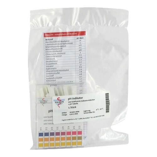 Fagron GmbH & Co. KG PH-Indikator Teststreifen 09640712