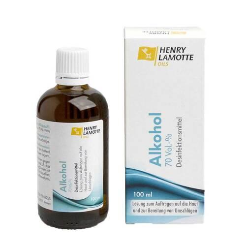 HENRY LAMOTTE OILS GMB Alkohol 70% V / V Henry Lamotte 10042755