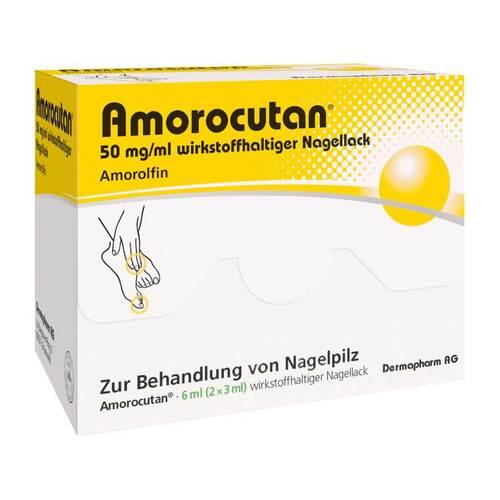 DERMAPHARM AG Amorocutan 50 mg / ml wirkstoffhaltiger Nagellack 10050559