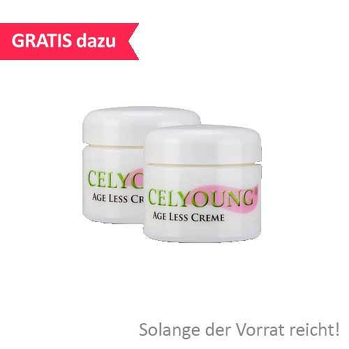 KREPHA GmbH & Co.KG Celyoung age less Creme plus eine Gratis 10118642
