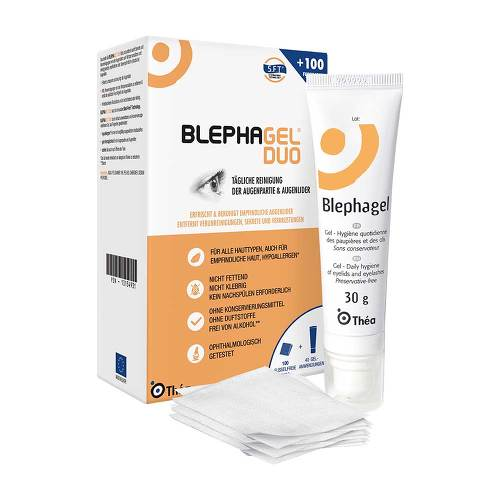 Thea Pharma GmbH Blephagel Duo 30 g + Pads 10134931