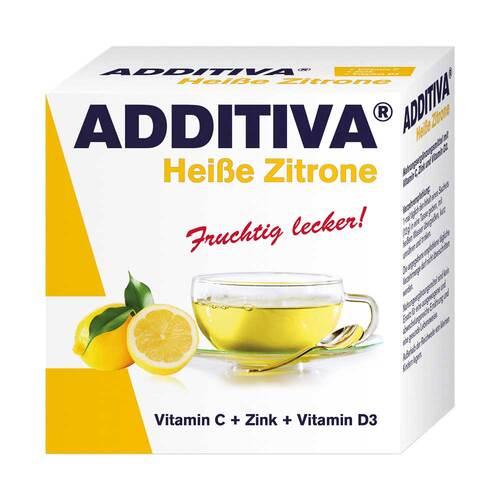 Dr.B.Scheffler Nachf. GmbH & Co. KG Additiva Heiße Zitrone Pulver 10627616