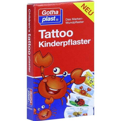 Gothaplast GmbH Tattoo Kinderpflaster 25x57 mm 10934525