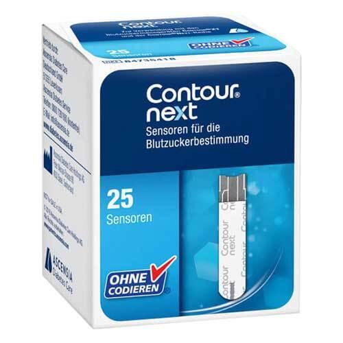 Ascensia Diabetes Care Deutschland GmbH Contour next Sensoren Teststreifen zur Blutzuckerbestimmung 11160126