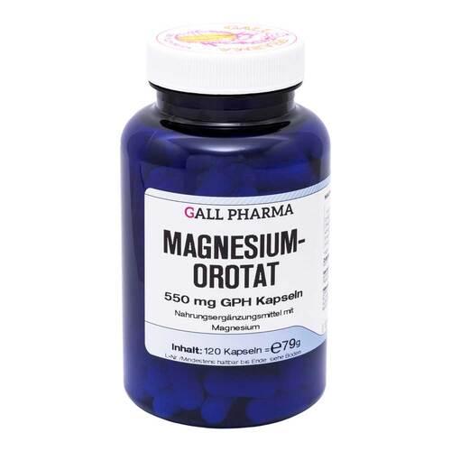 Hecht-Pharma GmbH Magnesiumorotat 550 mg GPH Kapseln 11176937