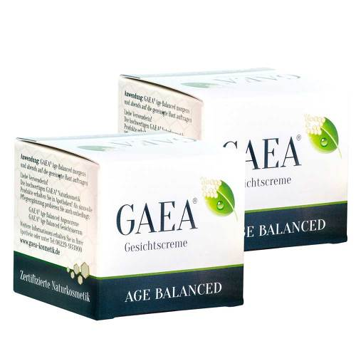 KREPHA GmbH & Co.KG Gaea Age Balanced + Gratis Gaea Gesichtscreme 11369814