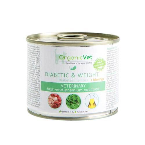 organicVet GmbH Organicvet Katze Nassnahrung diabetic & weight 12376207
