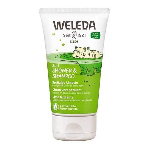 WELEDA AG Weleda Kids 2in1 Shower & Shampoo spritzige Limette 12387375