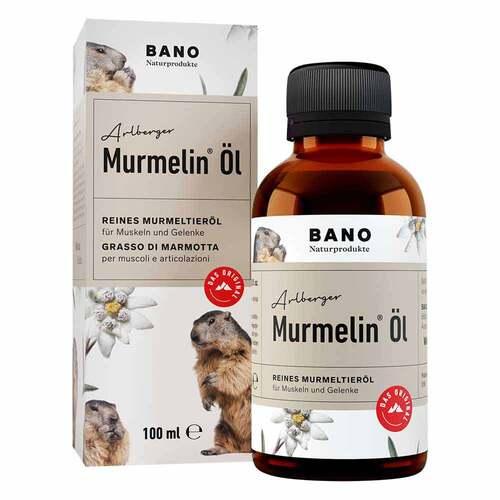 BANO Healthcare GmbH Tiroler Murmelin Öl 100% reines Murmeltieröl 12733044