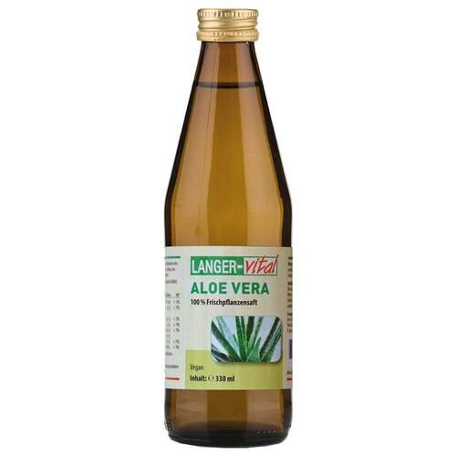 Langer vital GmbH Aloe Vera Direktsaft 100% 13247512