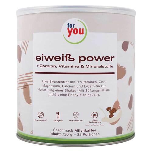 For You eHealth GmbH For You Eiweiß Power Milchkaffee 13570561