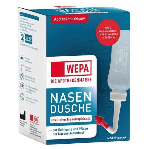 WEPA Apothekenbedarf GmbH & Co KG Wepa Nasenspülkanne mit 10x2,95 g Nasenspülsalz 13712357