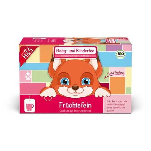 H&S Tee - Gesellschaft mbH & Co. H&S Bio Baby- und Kindertee Früchtefein Filterbeutel 14264234
