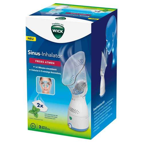 KAZ Europe SA WICK elektrischer Sinus-Inhalator 14286000