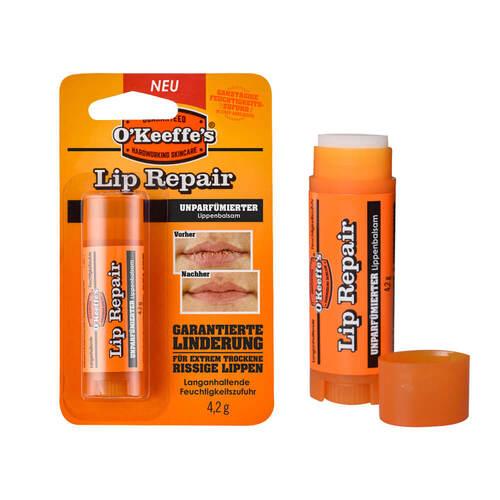 Kaufmann Neuheiten GmbH O Keeffe`s Lip Repair unparfümierter Lippenbalsam 15238167