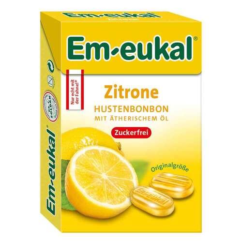 Dr. C. SOLDAN GmbH EM Eukal Bonbons Zitrone zuckerfrei Box 15877660