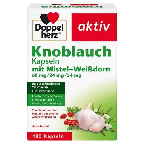 Queisser Pharma GmbH & Co. KG Doppelherz Knoblauch Mistel Weißdorn Kapseln 15994609