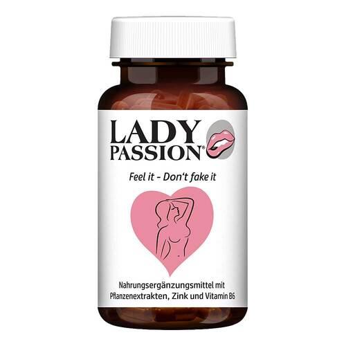 HCLM Health GmbH Lady Passion Libido mit Ashwagandha Maca Ginseng Kps 16886649